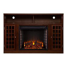 Denton Media Fireplace - Espresso