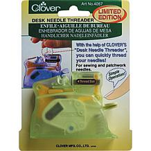 Desk Needle Threader - Green