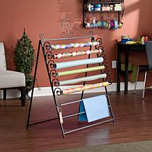 Easel/Wall Mount Craft Storage Rack - Black