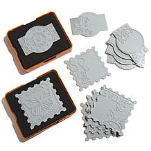 Fiskars Fuse Die and Plate Jumbo Kit - Marquee & Stamp