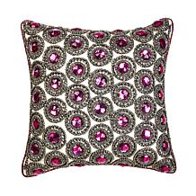 Highgate Manor Glamour Embellished Decorative Pillow