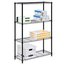 Honey-Can-Do 4-Tier Urban Adjustable Shelving Unit