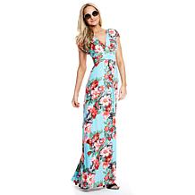 IMAN Global Chic Luxury Resort Knockout Maxi Dress