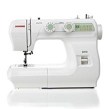 "Janome 2212 Mechanical Sewing Machine, 1/4"" Seam Foot"