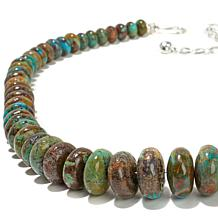 "Jay King Ceremonial Turquoise Bead 18-1/4"" Necklace"