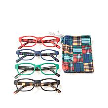 Jeffrey Banks Set of 4 Tartan Readers