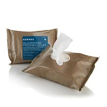 Korres Milk Protein Cleansing Wipes Duo