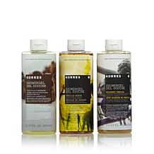 Korres The Vanillas Shower Gel Trio
