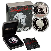 Marilyn Monroe Silver Proof Dollar Coin