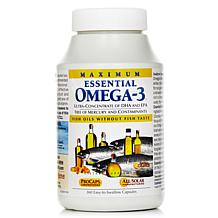 Maximum Essential Omega-3 Orange