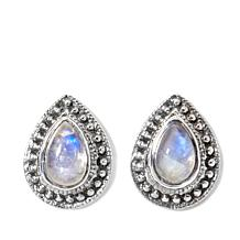 "Nicky Butler Moonstone ""Deco"" Earrings"