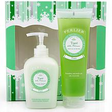 Perlier Tiaré Soap and Shower Gel Duo