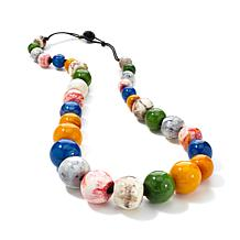 Rara Avis by Iris Apfel Multicolor Bead Necklace