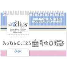 Sizzix eclips Cartridge - Romantic and Heart Alphabet