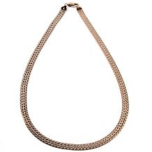 "Technibond® Reversible 18"" Herringbone Necklace"