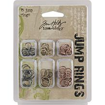 Tim Holtz Idea-Ology Jump Rings 75-pack