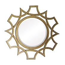 "Vern Yip Home 40"" Abberly Gold Metal Mirror"
