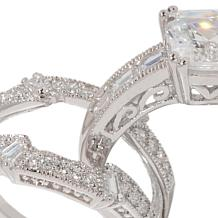 Xavier 3.40ct Absolute™ Asscher-Cut Ring Guard Set