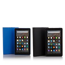 2-pack Fire Tablets Powered by Kindle with Cases