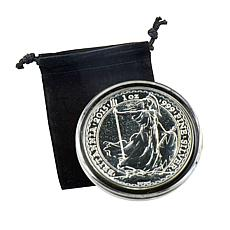 2015 BU 1 oz. Silver Britannia Coin - The Royal Mint
