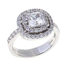 2.01ctw Absolute™ Princess Double Halo Ring