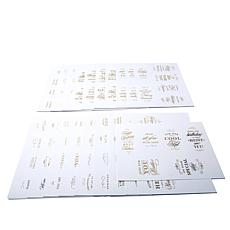 Anna Griffin® Super Sentiments Gold-Foil Stickers