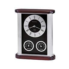 Bulova Belvedere Table Clock with Subdials