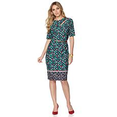 CENIA Belted Dress - Regular Fit