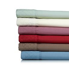 Concierge Collection Quilted Hem Easy Care Sheets