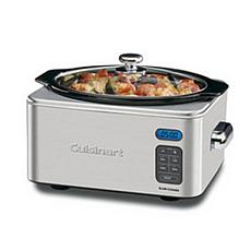 Cuisinart 6.5qt Programmable Slow Cooker with Recipes