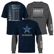Dallas Cowboys  3-in-1 T-Shirt Combo by VF Imagewear