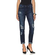 DG2 by Diane Gilman SuperStretch Patched Skinny - Banks