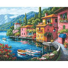 Dimensions Gold Cross Stitch Kit - Lakeside Village