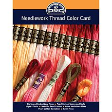 DMC Needlework Threads Printed Color Card