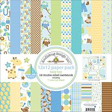 "Doodlebug Snips and Snails 12"" x 12"" Paper Pack"