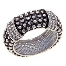 Emma Skye Popcorn Crystal Band Ring