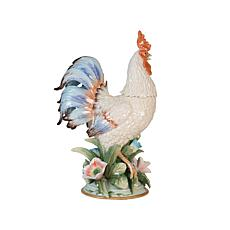 Fitz and Floyd Hand Painted Rooster Figurine