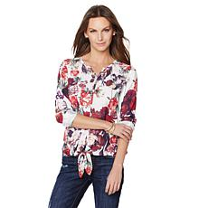 G by Giuliana Tie-Front Blouse