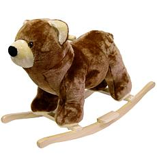 Happy Trails Plush Rocking Bear