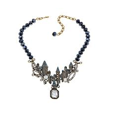 "Heidi Daus ""Captivating Castle"" Beaded Drop Necklace"