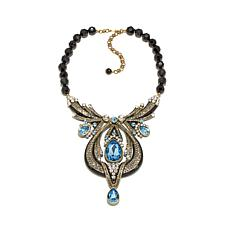 "Heidi Daus ""Draped in Deco"" Crystal Drop Necklace"