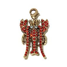 "Heidi Daus ""Maine Lobster"" Crystal-Accented Charm"
