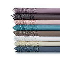 Highgate Manor Charlotte 300TC 4-piece Cotton Sheet Set