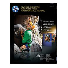 "HP 5"" x 7"" Advanced Glossy Photo Paper 60-count 2-pk"