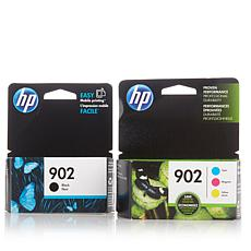 HP 902 Black and Color Ink Cartridges Combo Pack