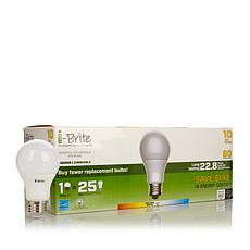 i-Brite 60-Watt Equivalent LED Light Bulb 10pk Neutral