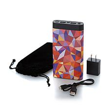 instaCHARGE 16,000 mAh Portable Device Charger Bundle