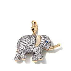 "Jewels by Jen ""Prosperity Elephant"" Pavé Charm"