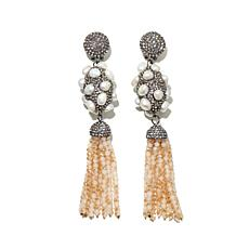 "Joan Boyce ""Peach Perfect"" Earrings"
