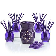 JOY 92pc Set Forever Fragrant® Warmer and Vases